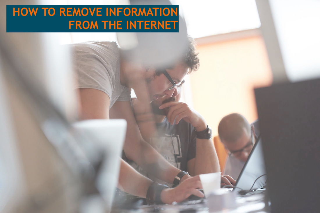 How to Remove Internet Information