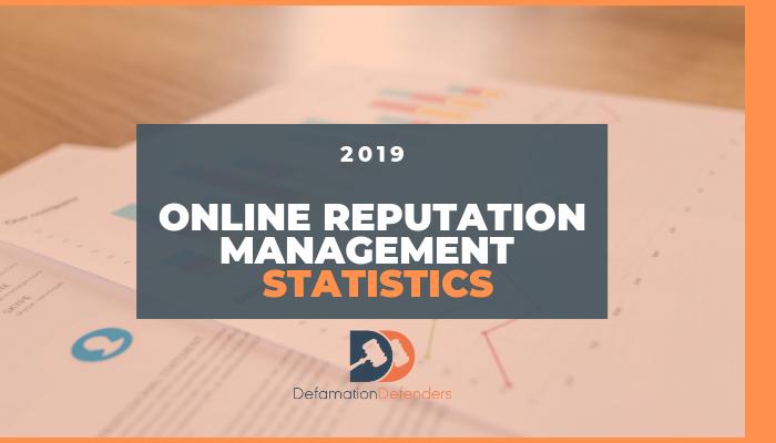 Online Reputation Management Stats 2019