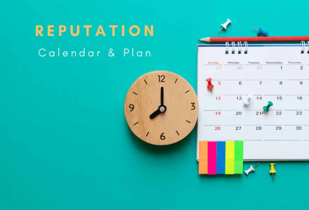 How to Create an Online Reputation Cleanup Content Calendar and Action Plan