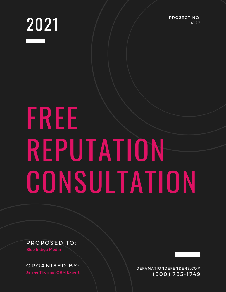 Free Reputation Check & Expert Consultation