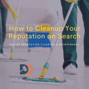 How to Cleanup Name and Reputation on Search